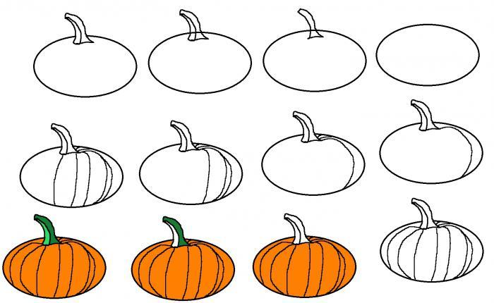 Come Disegnare Una Zucca Di Halloween