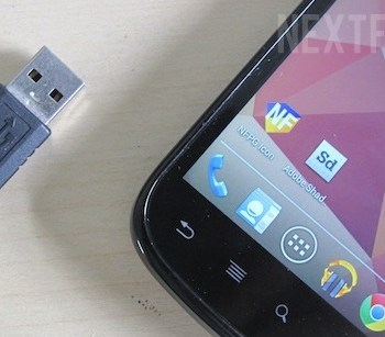 Android and USB cord