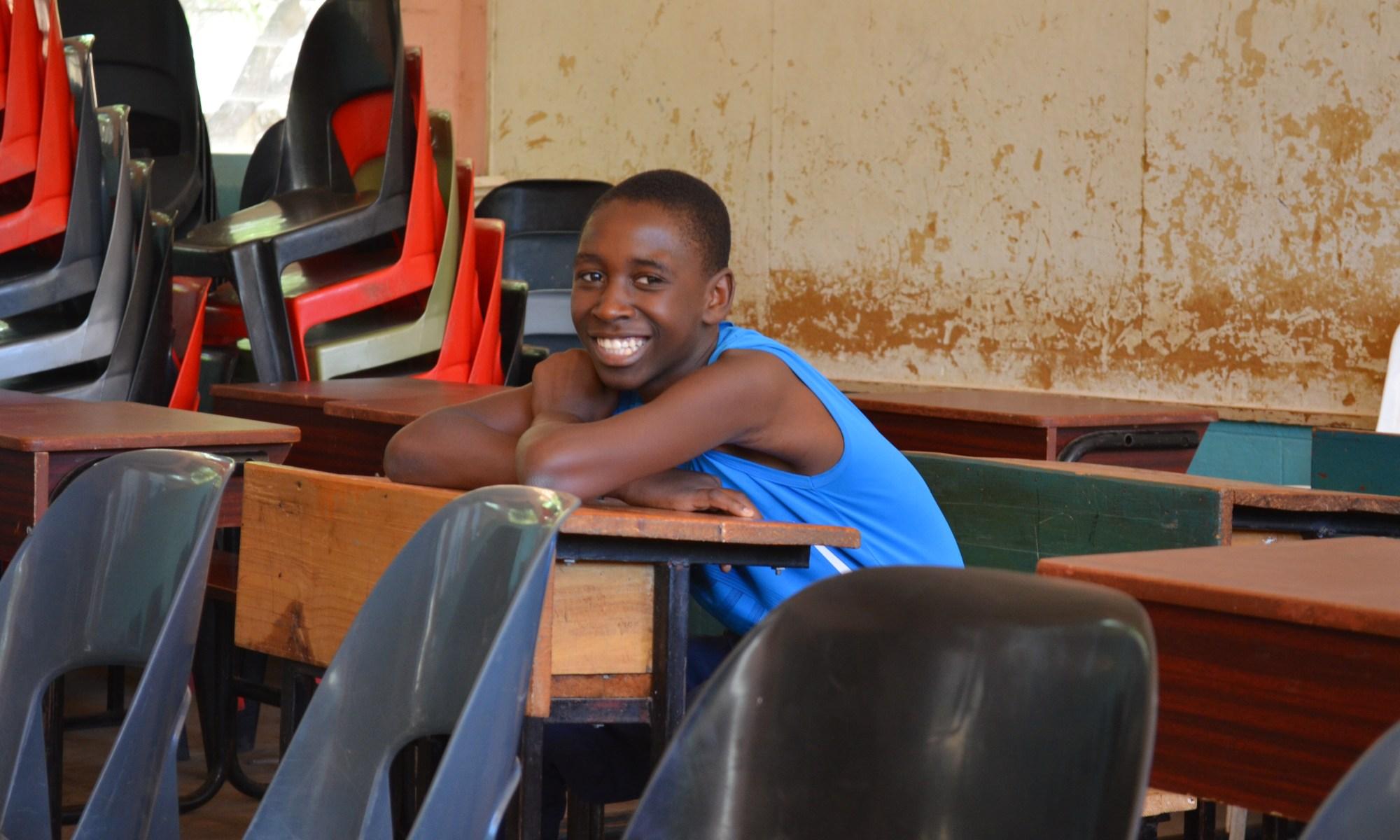 Schüler der Chaminade Secondary School