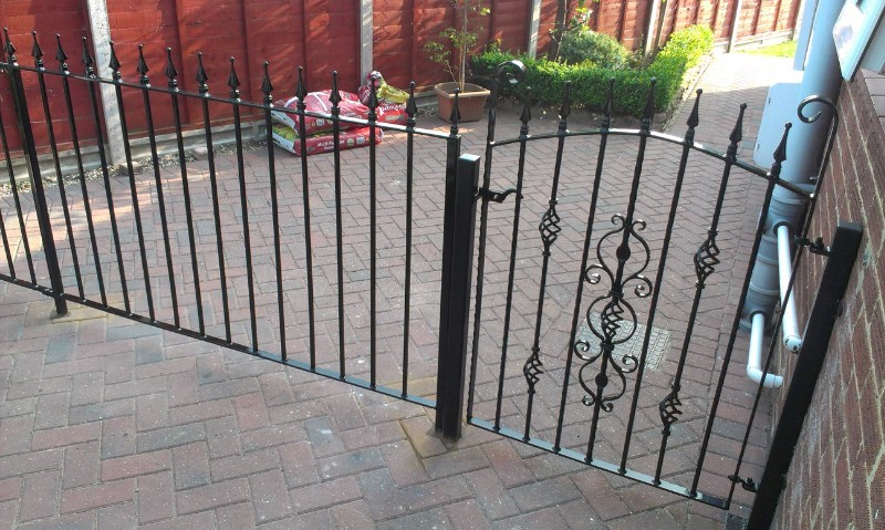 Steel Gate Fabrication