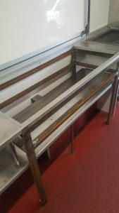 Catering Frame Stainless Steel Fabrication