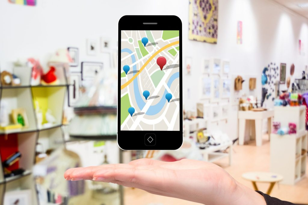 Google Moja Firma. Telefon z lokalizacjami sklepów