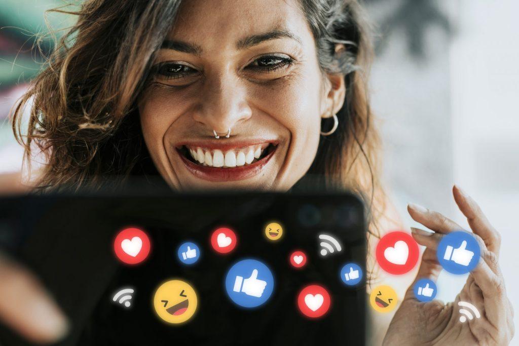 Emotikonki Social Media, Emotikony