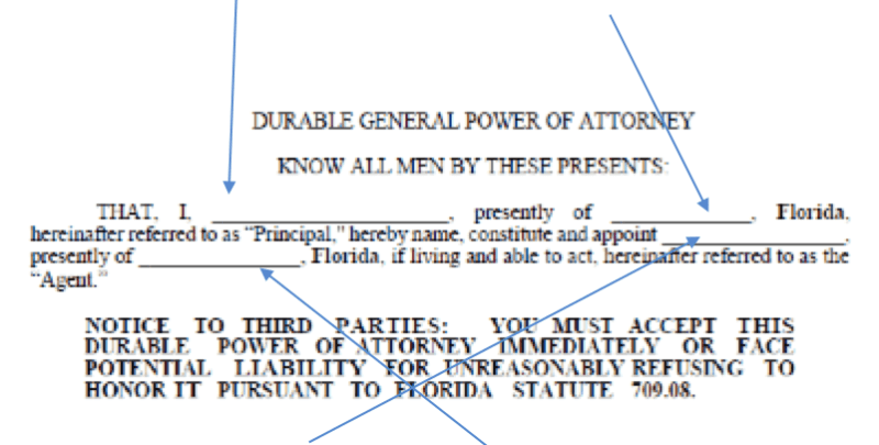 Free Florida Power Of Attorney Form With Step By Step Guide