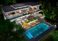 BUY Our 2 Level Modern Glass Home 3D Floor Plan  Next