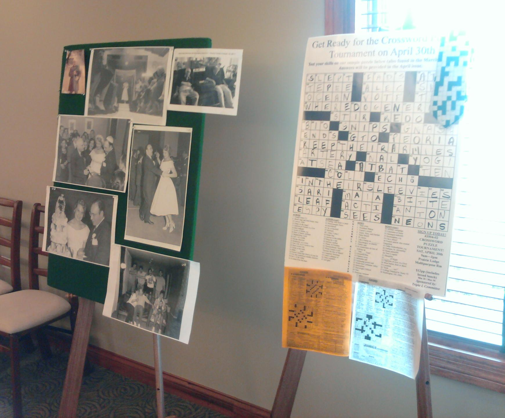 memory tables and memory boards from a