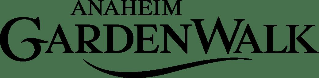 Anaheim GardenWalk Transparent Logo