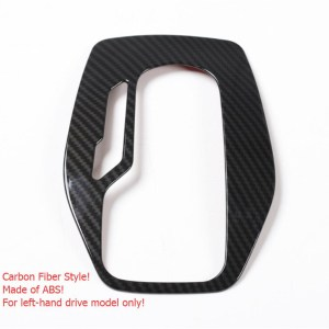 Carbon Fiber Gear Shift Panel | 2016-2020 Chevy Camaro