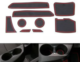 Interior Non-Slip Rubber Mats (9 PC) | 2016-19 Camaro