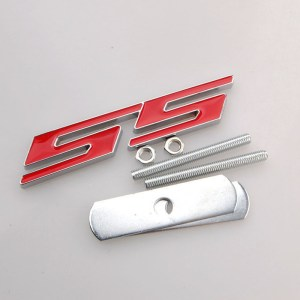 Red SS Grille Badge – 2010-2015 Camaro