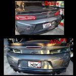 Smoked Sequential Tail Lights - Amber Signal | 2016-2018 Chevy Camaro