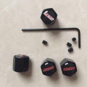 Elite Black SS Valve Stem Caps | 2010+ Camaro, Chevy SS