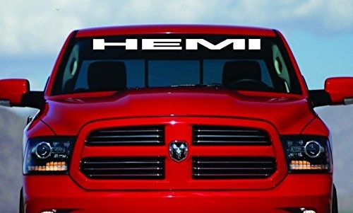 40″ HEMI Windshield Decal | 6 Colors