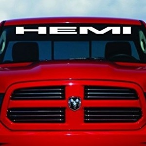 40″ HEMI Windshield Decal | 6 Colors