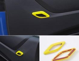 Colored/Carbon Fiber Speaker Trim | 2016-2020 Chevy Camaro