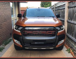 2015-20 Ford Ranger | Mustang Style Headlights (HID or Halogen)