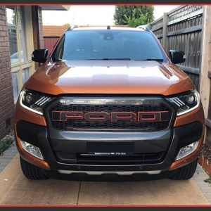 2015-2020 Ford Ranger | Mustang Style Headlights (HID or Halogen)