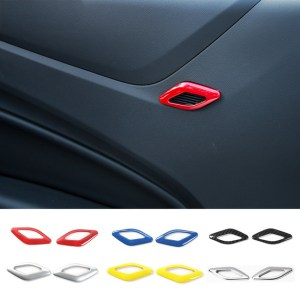 Colored/Carbon Fiber Speaker Trim | 2016-2020 Chevy Camaro