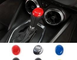 Carbon Fiber/Colored Shifter Cap | 2016-2020 Camaro