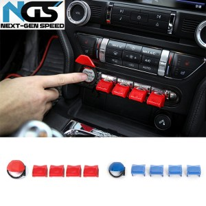 Colored Paddle Shifter Cover Extensions| 2015-2020 Ford Mustang