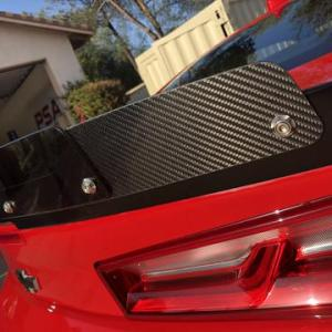 Blade Carbon Fiber Wicker Bill | 2016-2021 Camaro