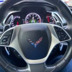 Colored Aluminum Paddle Shifter Extensions | 2014-2019 Chevy Corvette C7