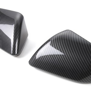 Colored/Carbon Fiber Mirror Covers | 2015-2020 Ford Mustang