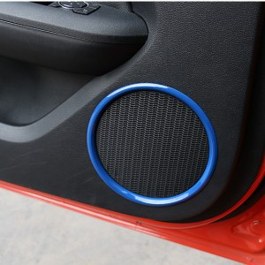 Carbon Fiber/Colored Speaker Covers | 2015-2020 Ford Mustang