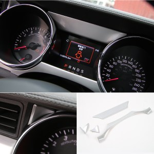 Speedometer Trim Panels – Carbon Fiber/Colored | 2015-2020 Ford Mustang