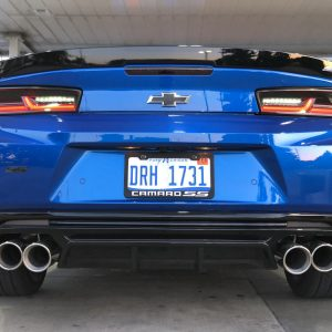 Gloss/Matte Quad Tip Diffuser | 2016-2021+ Chevy Camaro