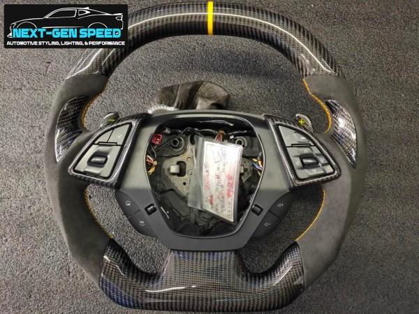 Carbon Fiber Steering Wheel (Complete) | 2016 – 2021 Chevy Camaro
