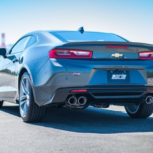 Borla ATAK Axle-Back Exhaust (11927) | 2016-2021 Camaro V6