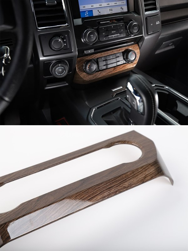 Climate Control Frame Cover (5 Finishes)   2016-2021 Ford F-150