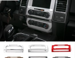 Radio Trim Frame Cover (5 Finishes) | 16-18 Ford F-150