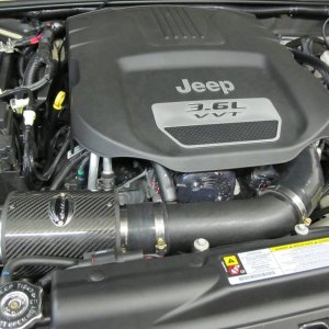 Cold Air Intake Kit 12-16 Wrangler JK RIPP Superchargers