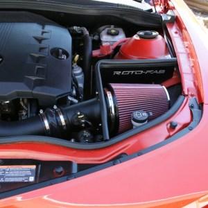 Roto-Fab Cold Air Intake Kit w/ Oiled filter | 2010-15 Camaro v6