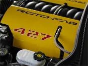 Corvette LS7 ZO6 Aluminum Engine Covers Roto-fab