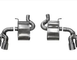 2.75 Inch Axle-Back Xtreme Dual Exhaust 4.0 Inch Polished Tips 16-19 Chevy Camaro SS/17-18 Camaro ZL1 6.2L V8 Stainless Steel Corsa Performance