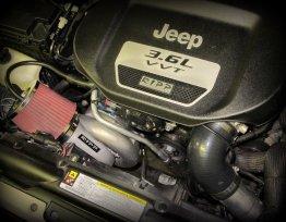 Wrangler JK Supercharger 15-16 Wrangler JK 3.6L Pentastar V6 Auto