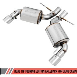 AWE Tuning Touring Axle-back Exhaust – Dual Exhaust | 2016-2021+ Camaro SS/ZL1