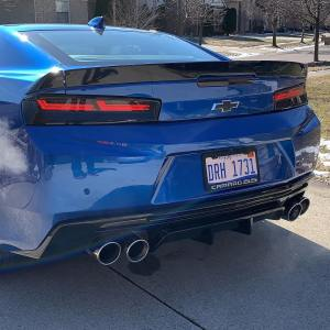 Helix Sequential LED Dark Tail Lamps   2016-18 Camaro