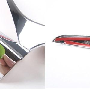 Colored/Carbon Fiber Side Mirror Trim   2016-2020 Chevy Camaro