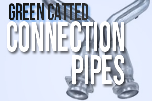 Green Catted Connection Pipe