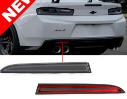 Helix LED Smoked Rear Bumper Reflectors | 2016-2020 Camaro