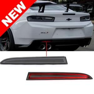 Helix LED Smoked Rear Bumper Reflectors | 2016-2021 Camaro