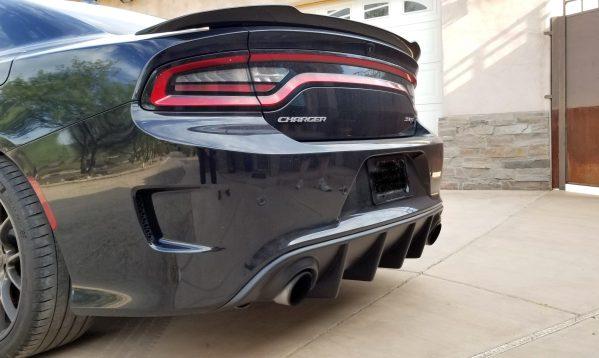 Single Tip SRT Diffuser | 2015 – 2021 Dodge Charger
