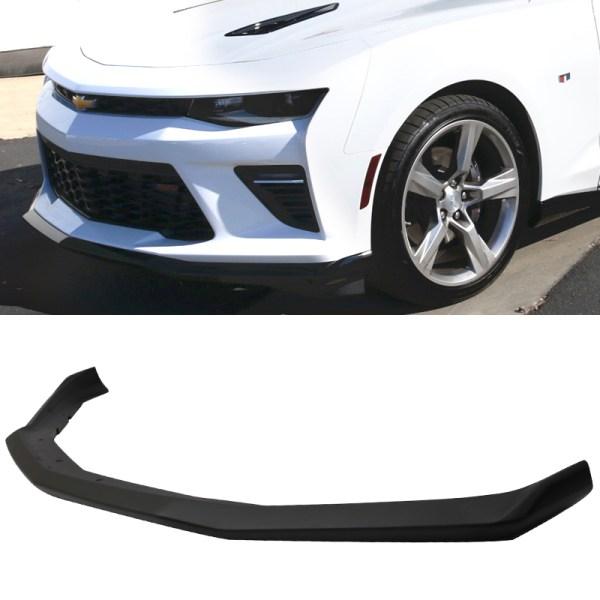 OE Style Front Splitter Lip (Matte/Gloss)   2016-2021 Camaro LT/RS/SS/LT1