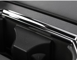 Rear Cup Holder Frame Cover (5 Finishes) | 2016-19 Ford F-150