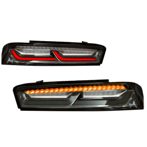 Smoked/Clear Tail Lights (Amber Signals) | 2016-18 Camaro