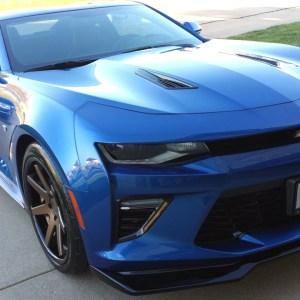 Carbon Flash ZL1 Style Front Splitter Lip | 2016-18 Camaro LT/RS/SS/LT1